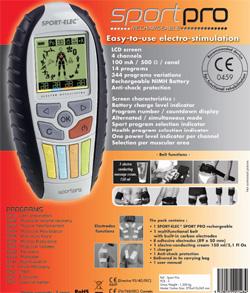 Массажер электростимулятор SportElec